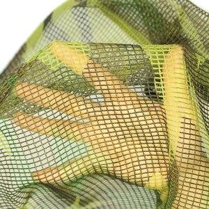 Image 5 - Freien Militär Tarnt Taktischer Mesh Breathable Schal Sniper Gesicht Schleier Camping Jagd Mehrzweck Wandern Scarve