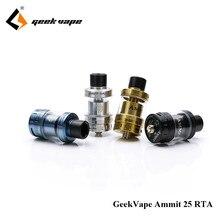 D'origine GeekVape Ammit 25 RTA 2 ml/5 ml 3D Amélioré Airflow Système Mise À Niveau Ammit RTA Réservoir pour E Cigarette Mod