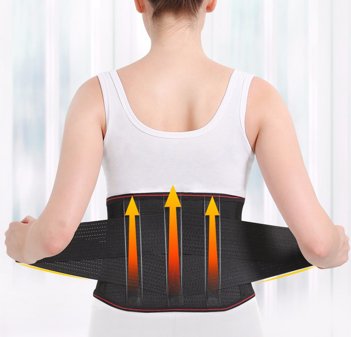 Self-heating Magnetic Therapy Belt Lumbar Disc Strain Herniation Warm Back Pain Health Waist Maintenance Body Care Tool
