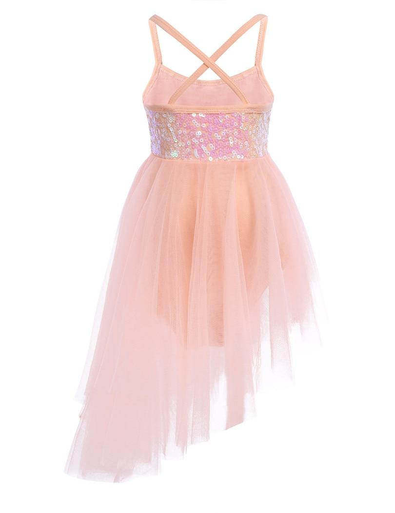 Kids Girls Sleeveless Ballet Dance Gymnastics Leotard Tulle Dress Girls  Sequins Soft Ballet Dancewear Girls Performance Costume-in Dresses from  Mother ... 3fb8c291b7ac