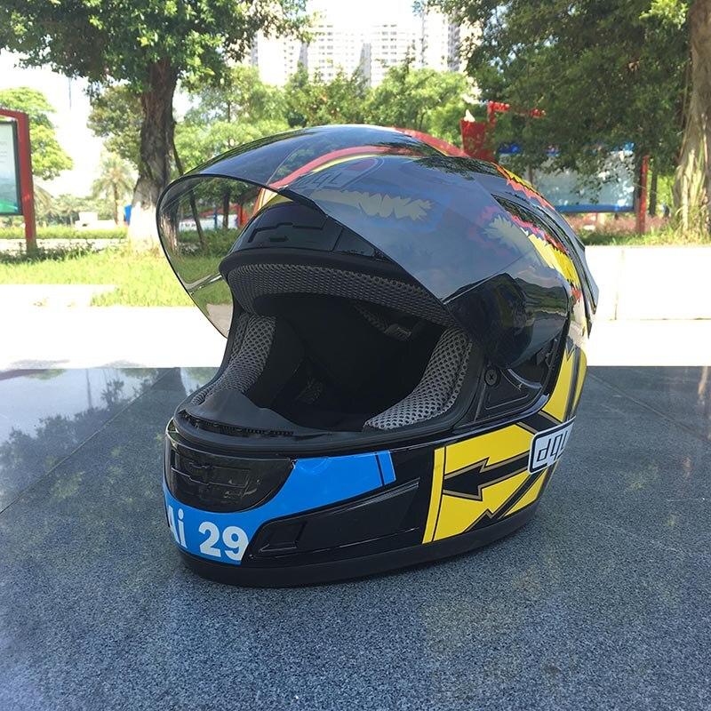 dql full face unisex moto helmets Dot good quality motorcycle helmet