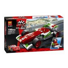 PIXAR Cars Ultimate Build Francesco Bernoulli Building Block Sets Toys Original Bela 10014 Educational Toys Bricks