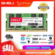 SHELI 16GB 32GB RAM DDR4 PC4-2666V 2666Mhz PC4-213