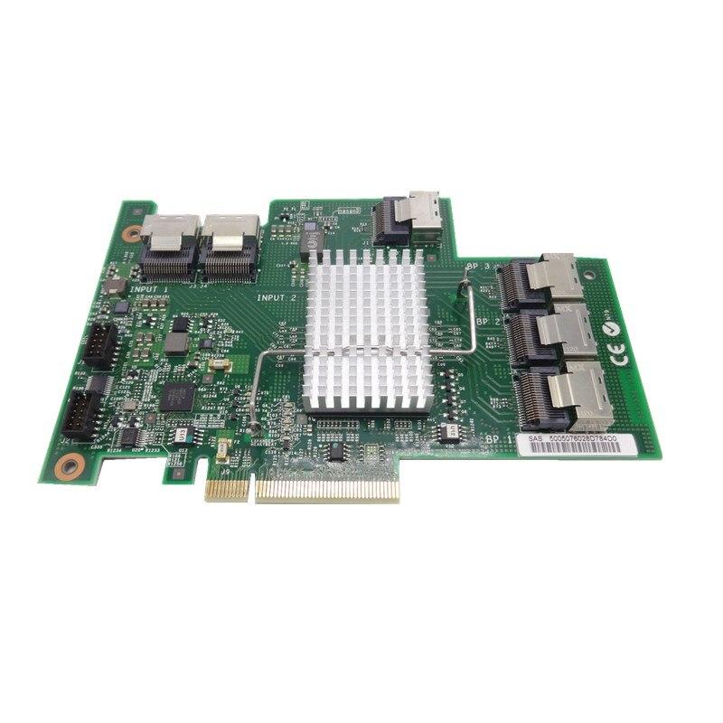 L'expansion Adaptateur X3650M3 46M0997 69Y0650 60Y0309 SAS/SATA 16 Ports 6 Gbps SAS-2 D'extension SATA Adaptateur 46M0997