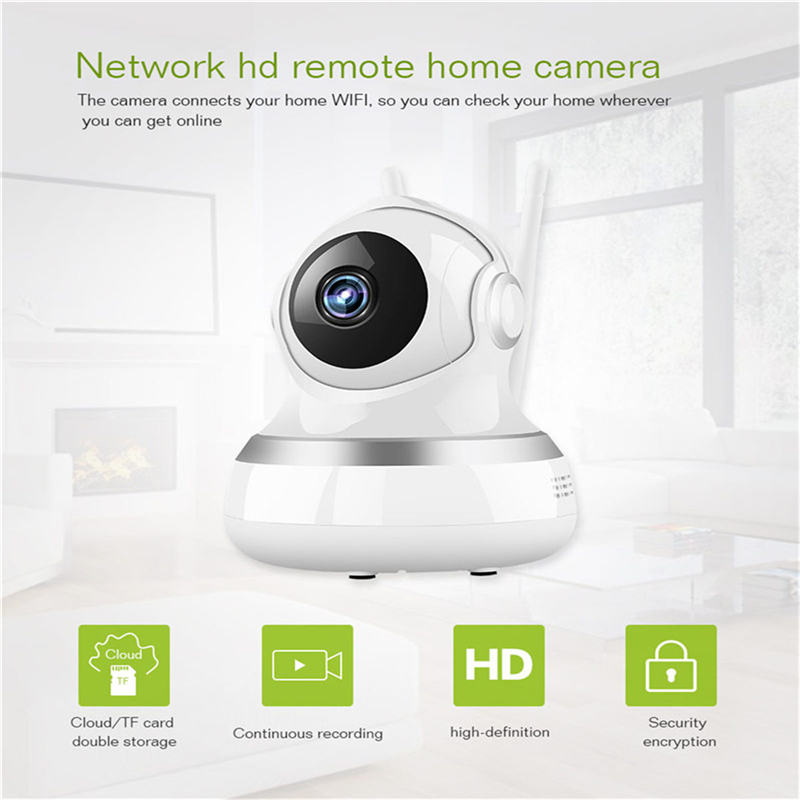 1080P Wifi Mini Webcam Home Security Wireless IP Camera Monitor Night Vision CCTV Camera Baby Monitor-in Surveillance Cameras from Security & Protection    3