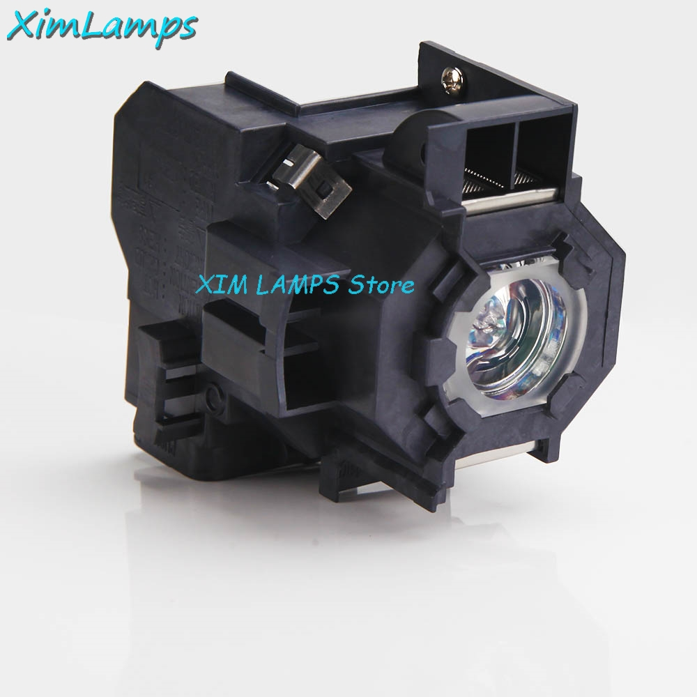 V13H010L41 Compatible Projector Lamp with Housing For Epson PowerLite S5 PowerLite S6 77C 78 EMP-S5 EMP-X5 H283A HC700 цена
