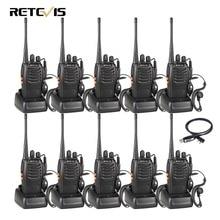 10 шт. рация Retevis H777 UHF 400-470 мГц 16CH радиолюбителей HF трансивер 2 способ радио Communicator comunicador удобно A9105A