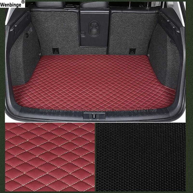 wenbinge car trunk mat For for Maserati all models GranTurismo Ghibli Levante quattroporte car styling auto accessories car pad цена