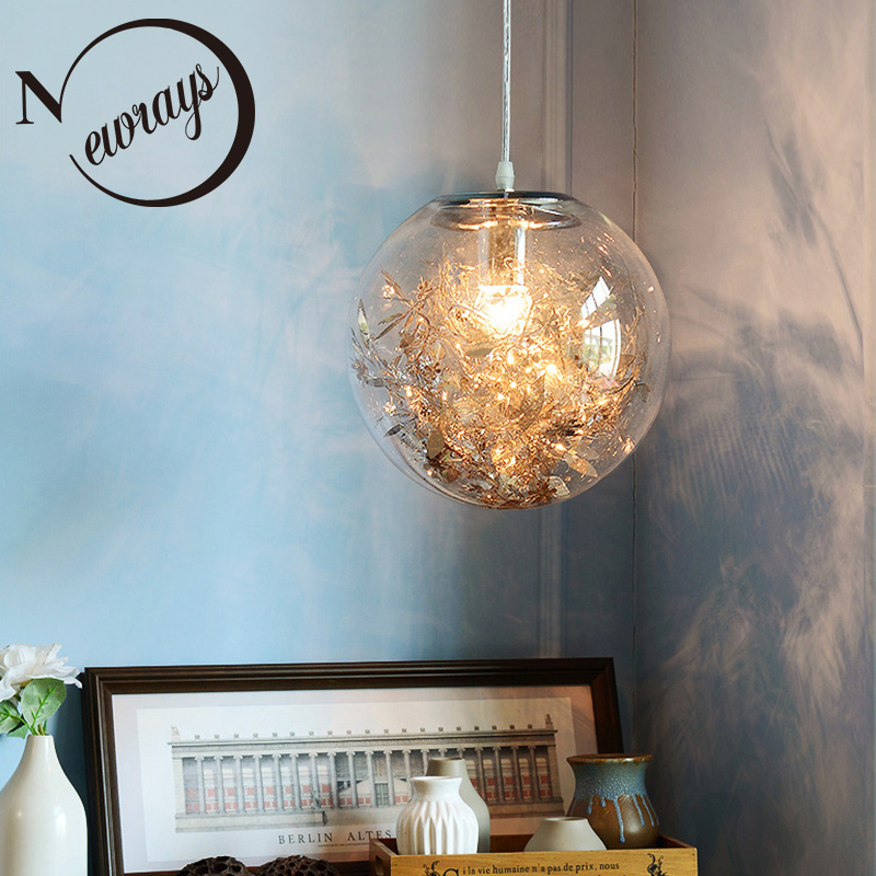 Ceiling Lights & Fans Original Modern Led Chandelier Nordic Deco Lighting Glass Ball Fixture Novelty Living Room Hanging Lights Restaurant Suspended Lamps Latest Technology Lights & Lighting