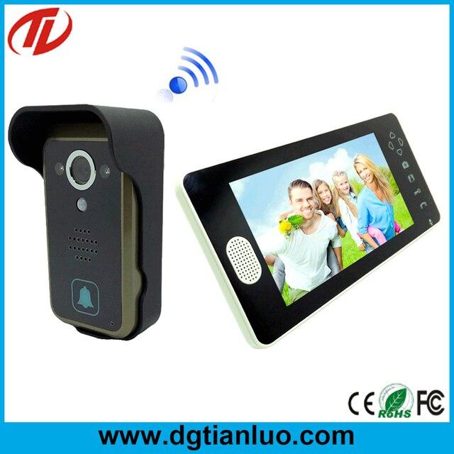 Door bell camera 2015 lcd screen video camera door front for Front door video camera