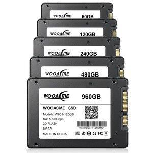 Image 2 - Wooacme W651 SSD 120GB 240GB 480GB 960GB 128GB 256GB 2.5 inch SATA III SSD Notebook PC Internal Solid State Drive