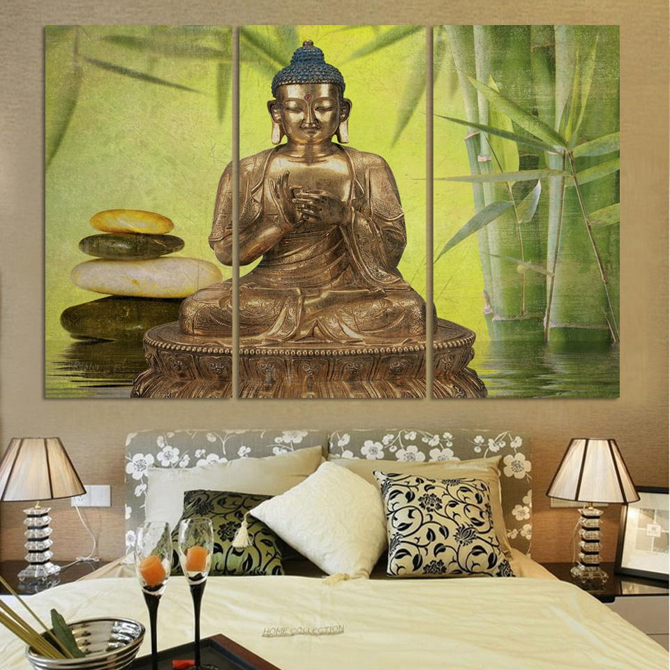 wohnzimmer buddha