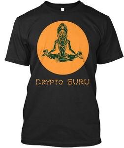 Новинка 2019, модная футболка Crypto Guru-I knowd You't Defined My Standard унисекс, футболка из 100% хлопка