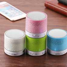 TTLIFE New MINI LED BluetoothSpeaker A9 TF USB FM Wireless Portable Music Sound Box Subwoofer Loudspeakers with Mic For phone PC