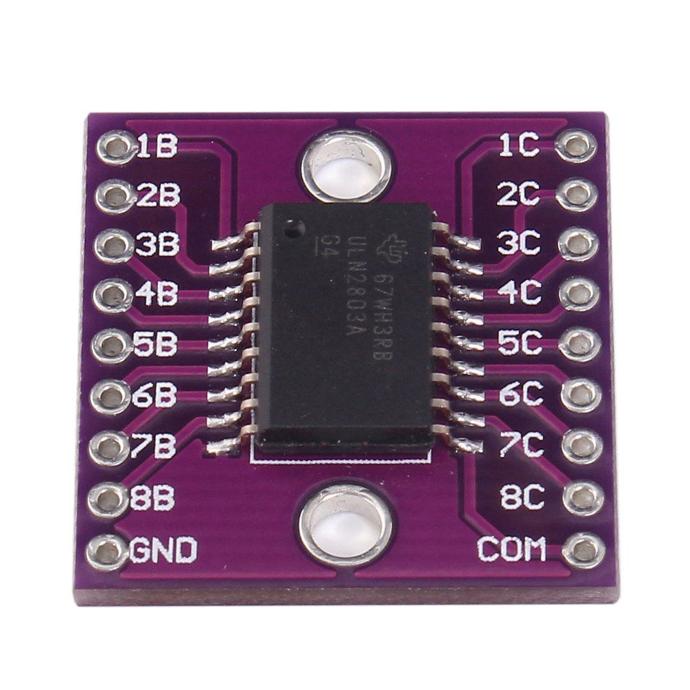 ULN2803A Darlington Transistor Arrays Driver Breakout Board For Arduino