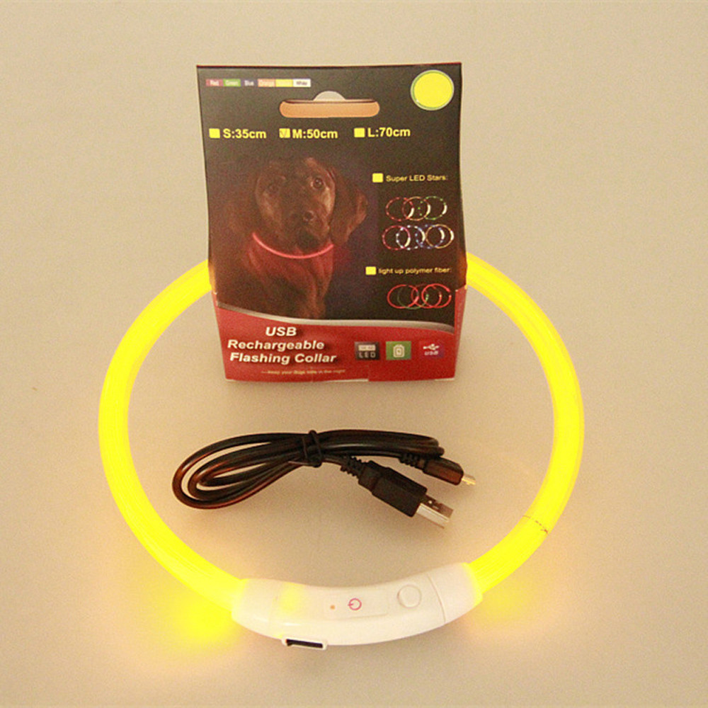 LED Dog Collar - USB Rechargeable 13