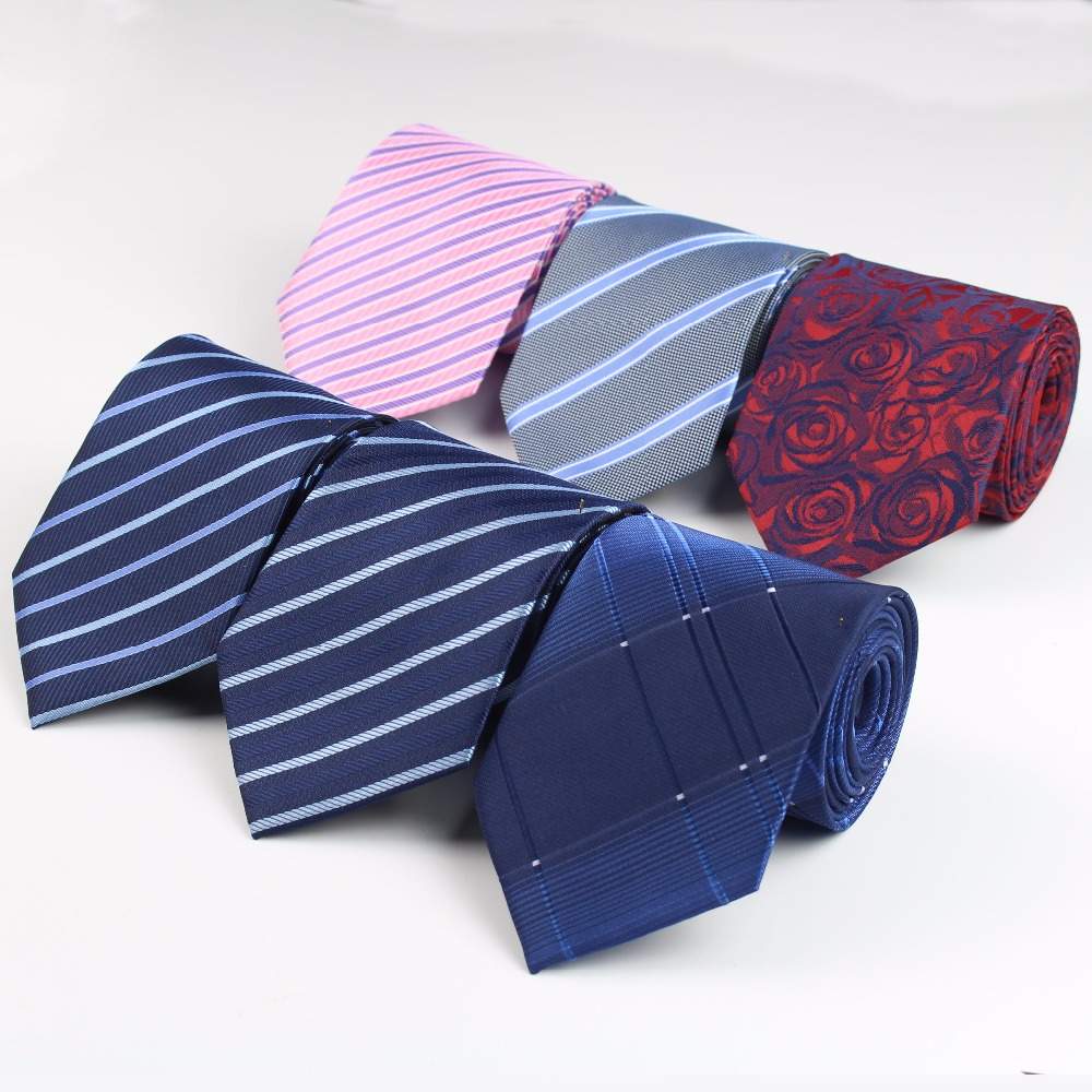 Formal Standard Size Necktie Groom Gentleman Ties Men Wedding Party Polyester Gravata Slim Arrow 8cm Tie