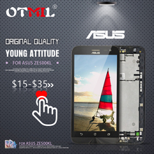 OTMIL 5.0 Original LCD For ASUS Zenfone 2 Laser ZE500KL Display Touch Screen with Frame Digitizer #1