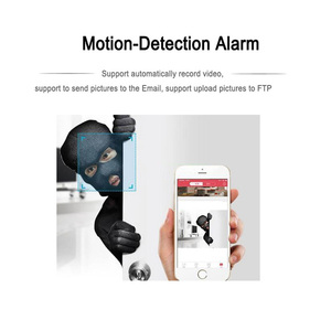 Image 4 - Wifi Camera ip 720P 960P 1080P support Micro SD Slot CCTV Security Surveillance Outdoor Waterproof Mini wireless Ipcam Home p2p