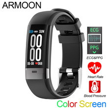 Smart Bracelet G36 ECG PPG Heart Rate Smart Band Sleep Monitor Fitness Tracker Blood Pressure Watch Color Screen Multisport Band