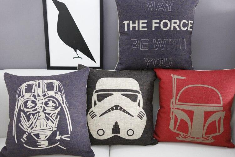 star wars yoda pillowcase cushion cover