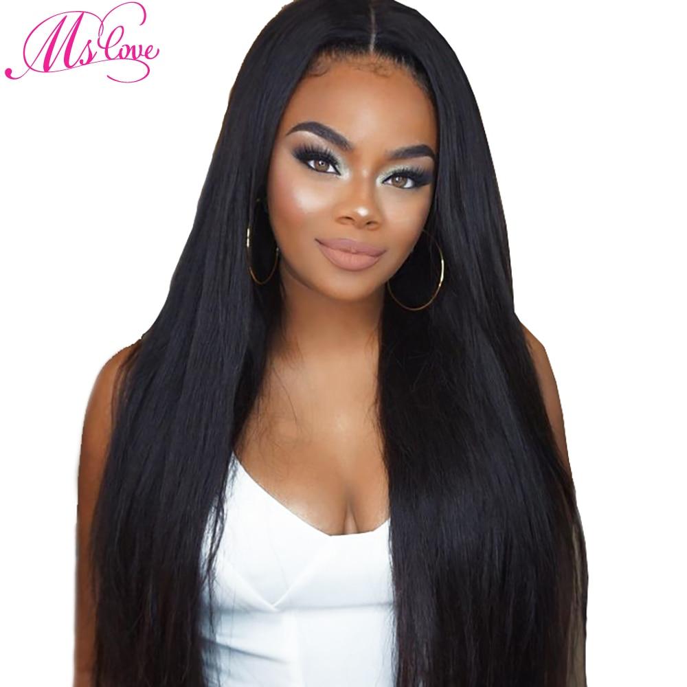 Ms אהבה קצר שיער אדם פאות עבור נשים - יופי אספקה