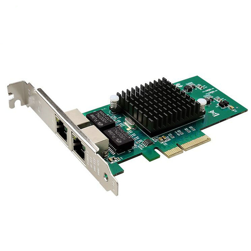 E1G42ET Dual Port PCI express Server Adapter 10/ 100/ 1000Mbps PCI-Express 2 x RJ45 -New chip intel82576 1 yr Warranty ...