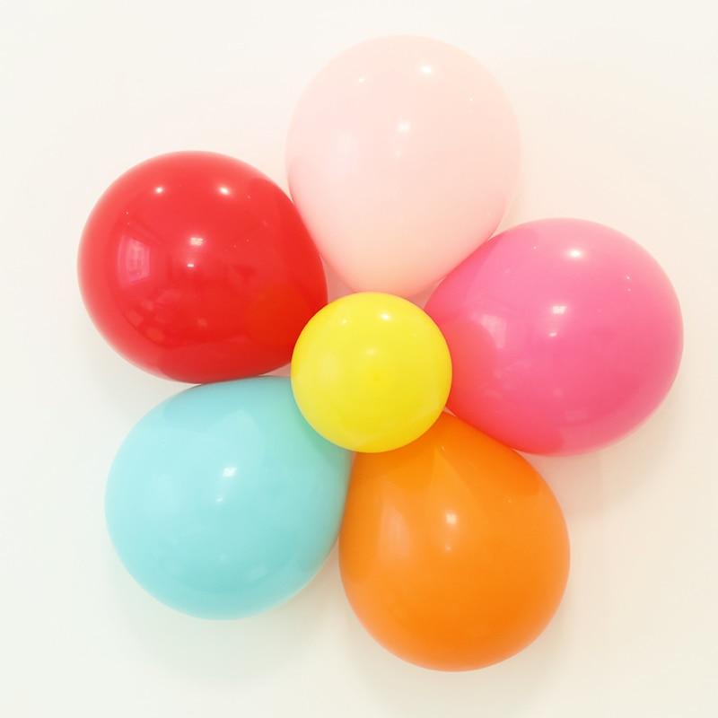 20Pcs/Lot Balloons Seal Clip Multi Ballon Sticks globos Accessories Plum Flower Clip Home Decor Wedding Birthday balloon clip