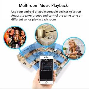 Image 3 - Agosto wr320 wi fi bluetooth receptor de áudio sem fio música adaptador óptico para airplay spotify dlna nas fluxo de som multiroom