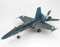 1:72 HA3510 USS Hornet aircraft carrier F / A 18C Hornet fighter model Favorites Model Scale Models With Original Box