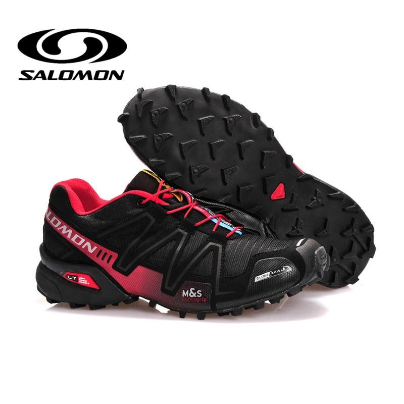 2018 Salomon Speed Cross 3 CS III Outdoor Women Sport Sneakers Comfortable Female Jogging Shoes Fencing Shoes Size 36-40