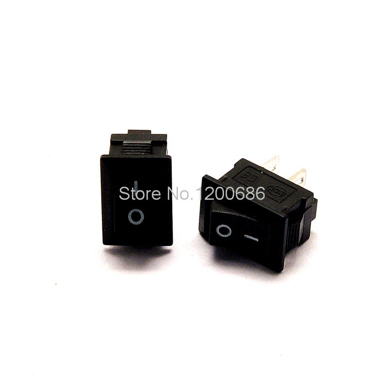 10pcs//lot Free shippi Circular ship type switch with lamp 3 feet 2 KCD1 tripods