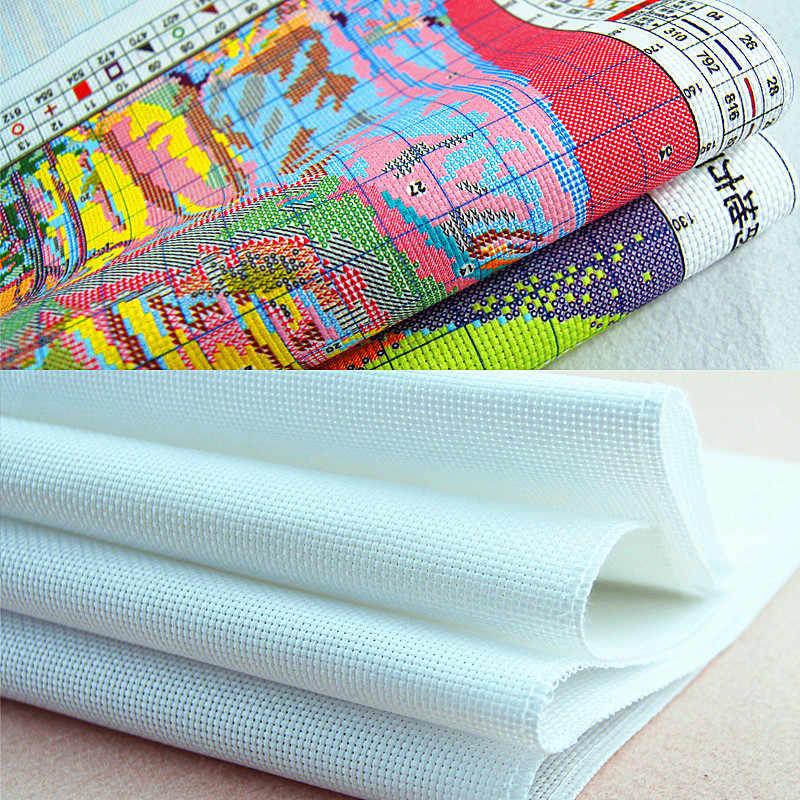 Новый китайский вышивки крестом комплект радость воскресенье 11CT 14CT печатных водорастворимые холст Вышивальная нить фирмы DMC DIY ручной рукоделие Наборы для