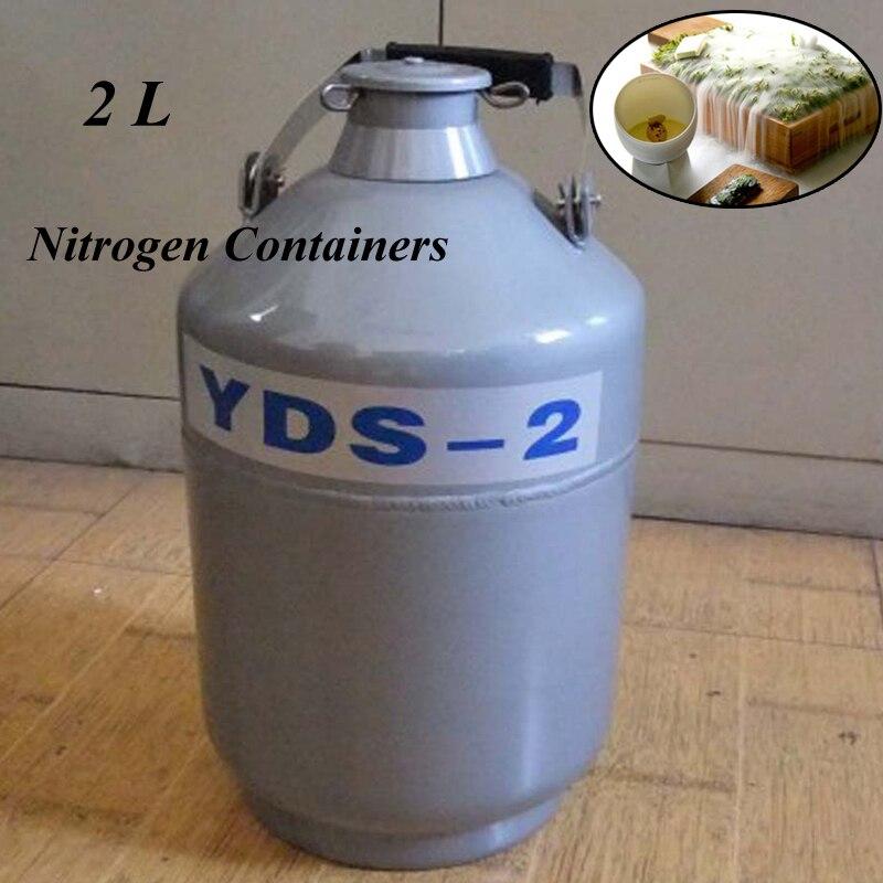 2L YDS-2 Aluminum Alloy Liquid Nitrogen Containers Liquid Nitrogen Container Dewar Nitrogen Liquid2L YDS-2 Aluminum Alloy Liquid Nitrogen Containers Liquid Nitrogen Container Dewar Nitrogen Liquid