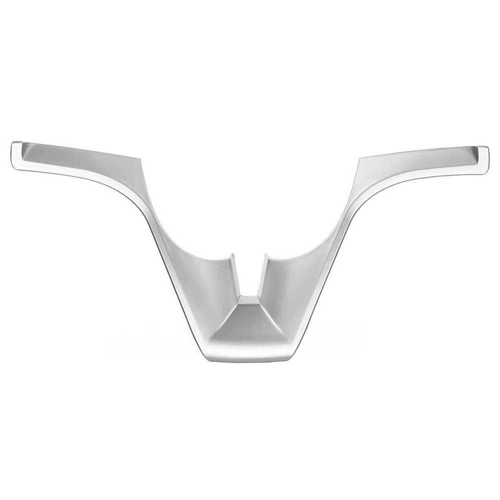 1 adet araba direksiyon ekleme ayar kapağı Sticker iç süsler Chevrolet/Cruze/Sedan/Hatchback