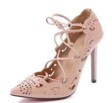 European&American style summer sexy ladies sandals pumps women's pointed toe party pumps shoes single shoes  high heels