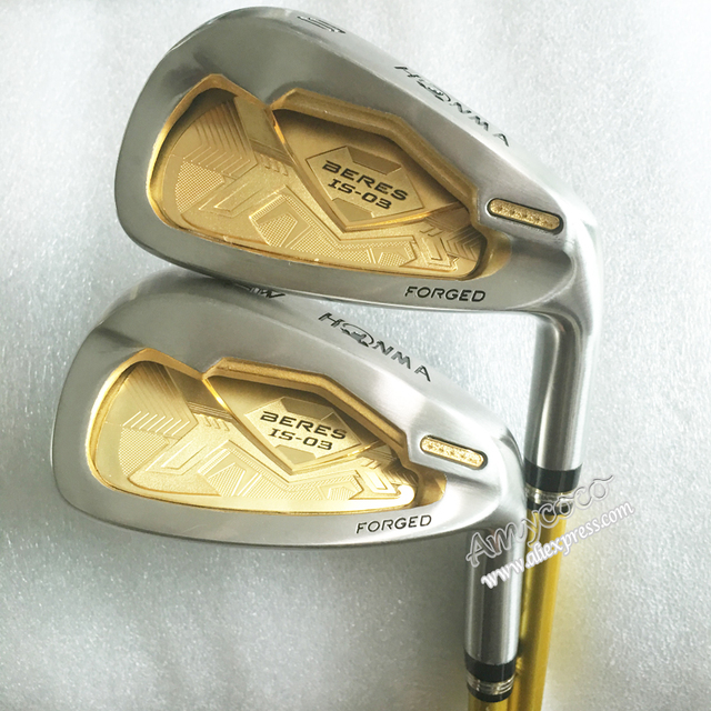 Cheap New Golf Clubs HONMA IS-03 4Star Golf Irons set 4-11.Aw.Sw Graphite Golf shaft Clubs Golf headcover Free shipping