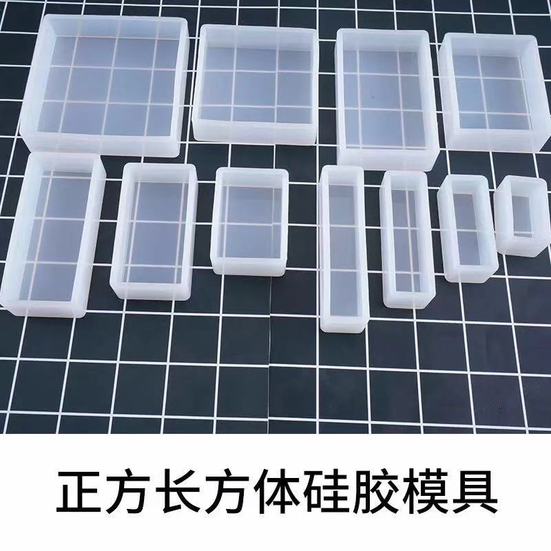 Square Rectangular Mold Notebook Silicone Mould Jewelry Accessories