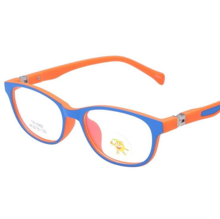 New Anti-radiation Childrens Glasses Frame Ultra-light TR90 Kids Glasses Children TR Optical Lense Safe Boys Girls 5002