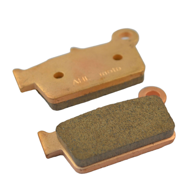 Motorcycle Parts Copper Based Sintered Brake Pads For KAWASAKI KX250F KX 250F 250 F KX250 F 2004-05 Rear Motor Brake Disk #FA367