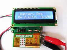 Бесплатная доставка hr530 Батарея тестер внутреннего сопротивления