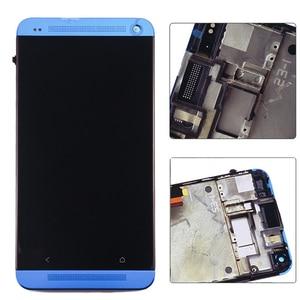 Image 5 - 801e Đơn SIM LCD Cho HTC One M7 Màn Hình LCD Hiển Thị Màn Hình Cảm Ứng 4.7 inch Thay Thế Bộ Số Hóa có Khung 1 năm Bảo Hành
