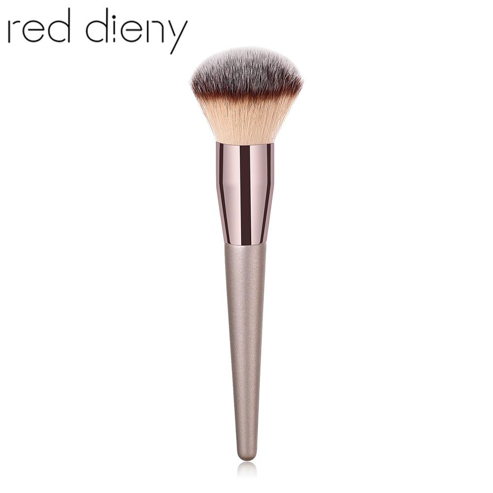 1pc Large Powder Blush Makuep Brush Soft Fiber Hair Foundation Contour Concealer Blusher Blending Brush Cosmetic Beauty Tool