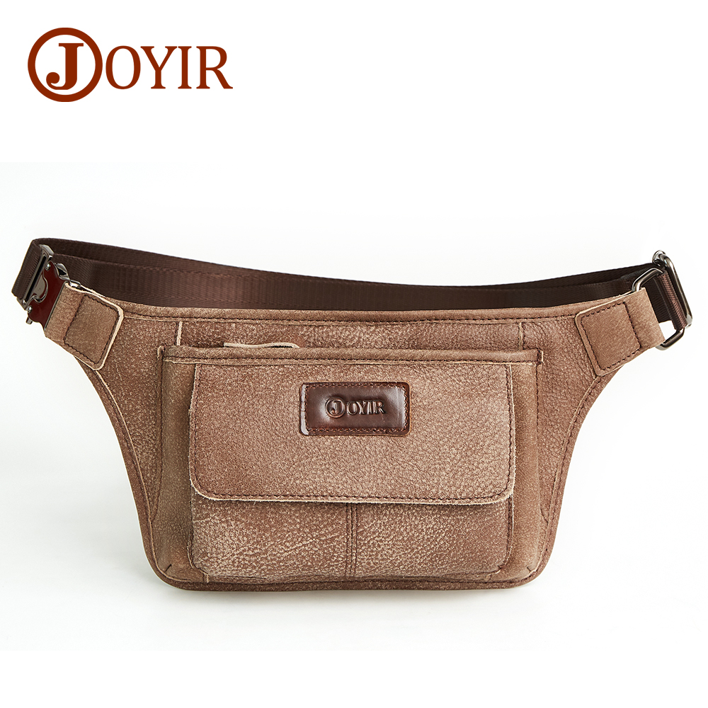 JOYIR дизайнерская мужская Большая вместительная нагрудная сумка, мужская повседневная сумка мессенджер, топ, коровья кожа, слинг, сумка на плечо, поясная сумка для мужчин