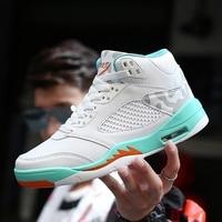 Man High top Jordan Basketball Shoes Men's Cushioning Light Basketball Sneakers Anti skid Breathable Outdoor Sports Jordan Shoes|Basketball Shoes| |  -
