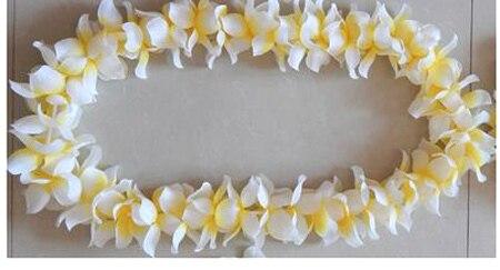30pcslot 2015 white decoration mariage hawaiian flower lei garland 30pcslot 2015 white decoration mariage hawaiian flower lei garland wedding decoration artificial flowers mightylinksfo