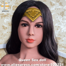 WMDOLL Top Quality Oral Sex Doll Head For TPE Love Doll Silicone Mannequin Heads Adult Sexy Products For Men