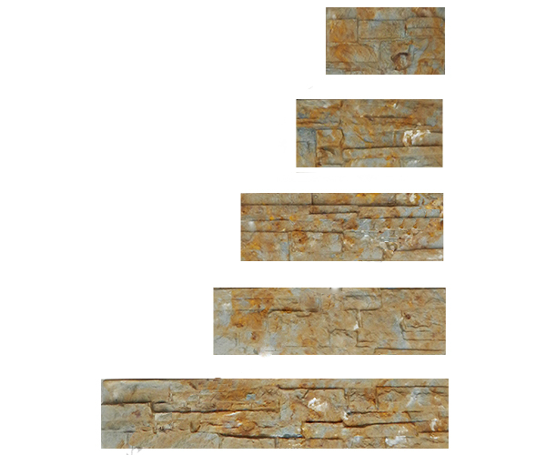 Set 5pcs Plastic Molds for Concrete Plaster Decor Wall ...