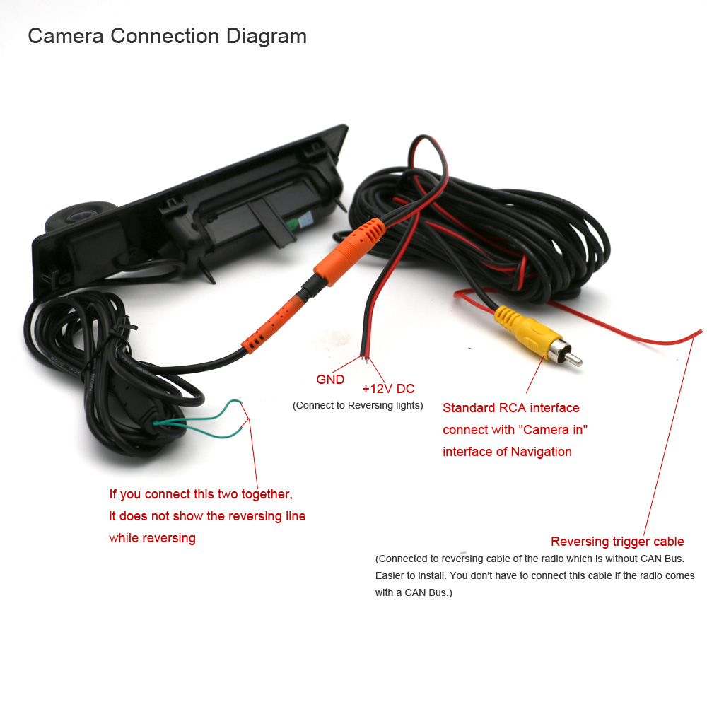 New Car Trunk Handle Camera Rear View 4 Pin Plug For Bmw 3 5 6 Wiring Harness Diagram X3 Series F10 F11 F25 F30 Parking Backup In Vehicle From Automobiles