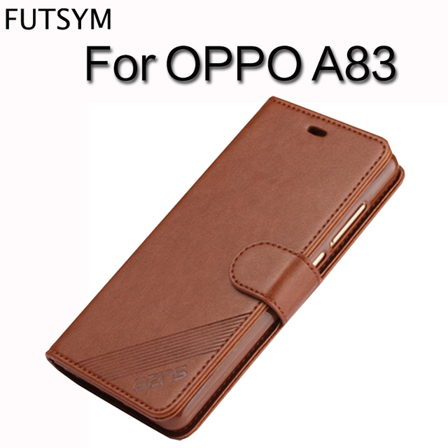 best authentic 062f1 2f384 US $7.14 35% OFF|Wallet Card Holder Cover for OPPO A83 Case and Covers Flip  Leather Silicon Back Cover for OPPO A 83 Case Luxury Shockproof Black-in ...